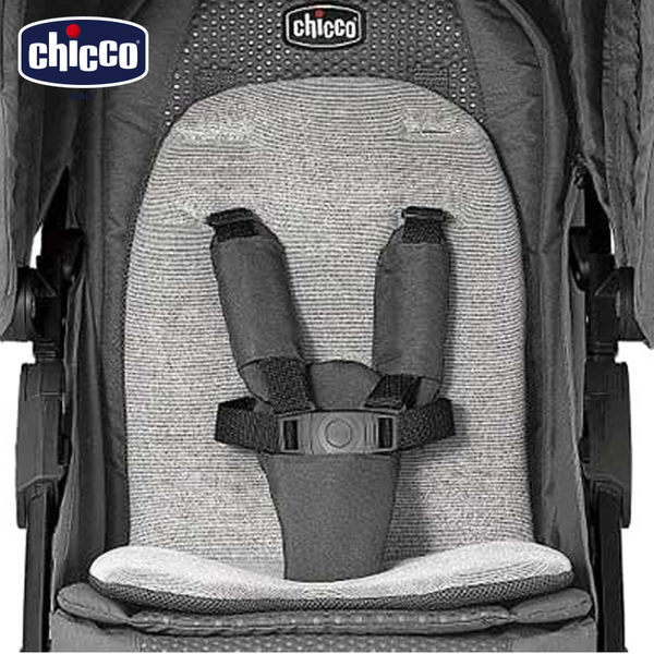 chicco-Bravo限定版肩部安全帶保護套(尊爵灰/絕美紅)