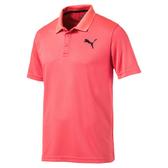 Puma 男 粉 Polo衫 短袖 運動襯衫 短袖 短T 高爾夫 排汗 透氣 運動上衣 83839028
