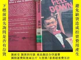 二手書博民逛書店Fell罕見Down (《費爾下來了》英文原版 精裝)Y168754 M. E. Kerr (1993年瑪格麗