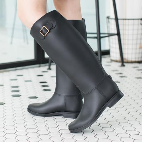 女款 氣質優雅高筒 雨靴 長靴 59鞋廊