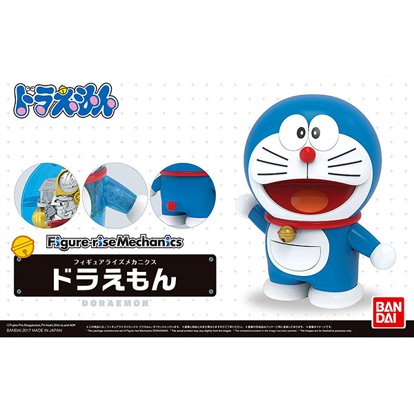 哆啦A夢 BANDAI 組裝模型 Figure-rise Mechanics系列 Doraemon 小叮噹