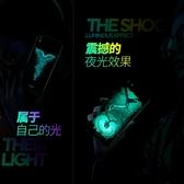 【伊人閣】oppor9s手機殼r9splus夜光玻璃r9plus
