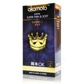 OKAMOTO 岡本OK 皇冠型 10片 衛生套 保險套 【DDBS】