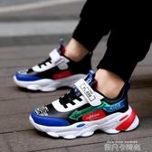 童鞋男童運動鞋2020春秋新款兒童跑步鞋防水皮面男女童運動鞋 依凡卡時尚