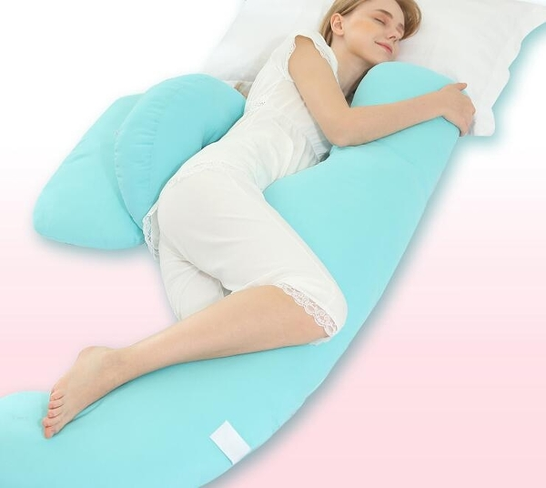 孕婦枕側睡枕托腹u型枕