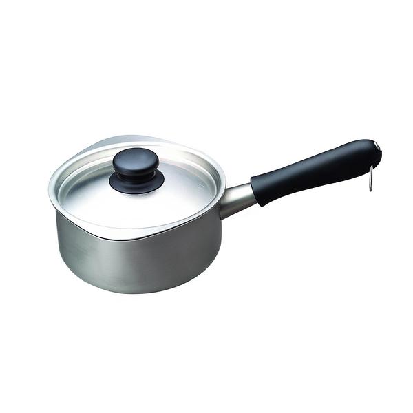 日本 Sori Yanagi Stainless Steel Milk Pan 16cm 柳宗理 片手鍋系列 不鏽鋼牛奶鍋(含鍋蓋)霧面不鏽鋼款