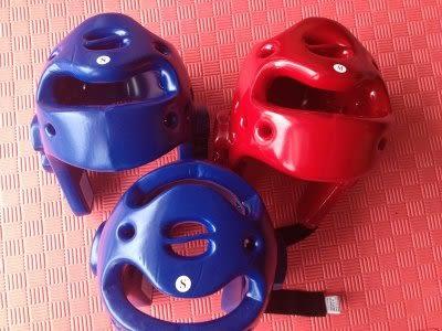 跆拳護頭頭盔  一次成型護頭【藍星居家】