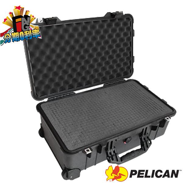 【24期0利率】PELICAN 派力肯 塘鵝 1510 氣密箱 (含泡棉) 拉桿滾輪箱 正成公司貨 1510WF