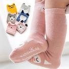 童襪 嬰兒無骨防滑襪高筒襪長筒襪 B7B025 AIB小舖