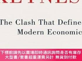 二手書博民逛書店Keynes罕見Hayek: The Clash That Defined Modern EconomicsY