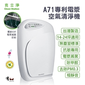 【有購豐】克立淨 A71 專利雙層電漿滅菌空氣清淨機