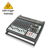 BEHRINGER PMP4000專業16通道平台功率混音器(具有Multi-FX處理器和FBQ反饋檢測系統)