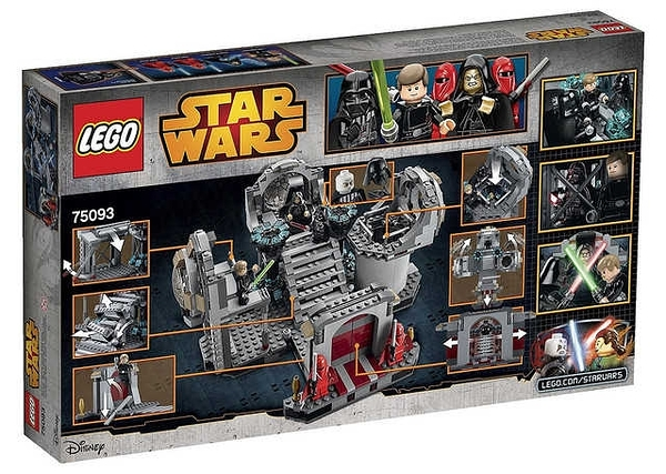 LEGO 樂高 Star Wars 星際大戰 Death Star Final Duel 死星最終對決 75093