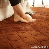 簡約北歐柔軟加厚地毯客廳茶幾臥室床邊床前榻榻米墊房間滿鋪可愛   莫妮卡小屋  YXS