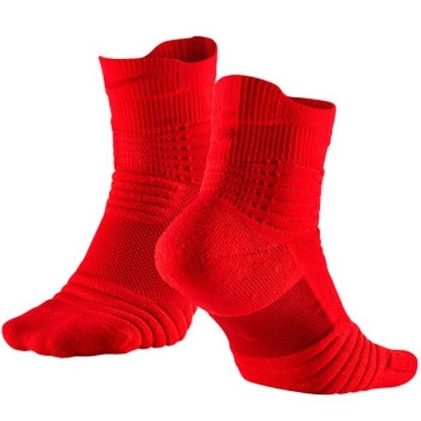 Nike Elite Versatility Mid [SX5370-657] 男襪 經典 籃球 中筒襪 舒適 透氣 紅