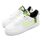 Nike 休閒鞋 Air Force 1 07 LV8 Worldwide 白 綠 男鞋 女鞋 刺繡設計 運動鞋【ACS】 CK6924-101