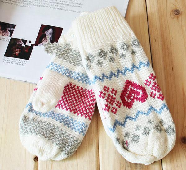 薇嘉雅  愛心女生手套/愛心款手套 保暖加厚加絨手套