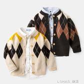 童裝毛衣兒童針織衫開衫3歲寶寶4男童秋裝線衣外套冬裝 樂活生活館
