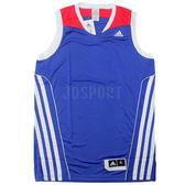 adidas SS TEAM SPEED 男 藍 白 紅 團體 籃球服 球衣 透氣 上衣 無袖 背心 t恤 G78190