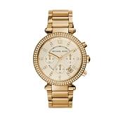 【Michael Kors】美式奢華晶鑽時尚經典腕錶-奢華金/MK5354/台灣總代理公司貨享兩年保固