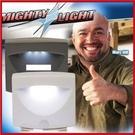 <特價出清>3LED紅外線感應燈 走廊樓梯牆壁露營小夜燈【AF06054】99愛買小舖