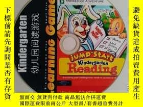 二手書博民逛書店英語幼兒園閱讀遊戲罕見Kindergarten Reading
