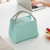 保溫手提印花便當袋 飯盒袋 便當包 加厚 帶飯包 便攜 收納 整理 分類【N390】MY COLOR