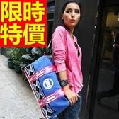 尼龍側背包-輕盈可肩背大容量設計男女郵差包2色57b27【巴黎精品】