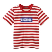 『小鱷魚童裝』LOGO條紋T恤(02號~08號)533433