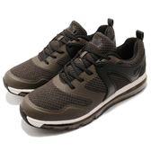 DIADORA 慢跑鞋 綠 白 全氣墊 跑鞋 寬楦頭 緩震回彈 運動鞋 男鞋【PUMP306】 DA8AMC6055