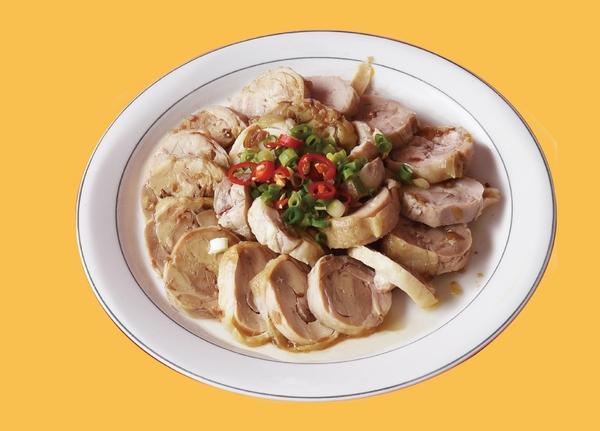 輕享鮮凍組(蔥油雞捲、紫蘇香魚、五香豬建各1入)