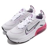 Nike 休閒鞋 Air Max 2090 PS 白 粉紅 童鞋 中童鞋 氣墊 半透明鞋面設計 運動鞋 【ACS】 CU2093-003