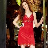 曼黛瑪璉-法式香吻 襯裙 M-XL(深遂紅)(未購滿3件恕不出貨,退貨需整筆退)
