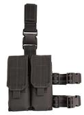 腿包戰術雙聯包戶外多功能腿包手機腿包腿套AK M4彈夾包模塊化腿掛 聖誕交換禮物