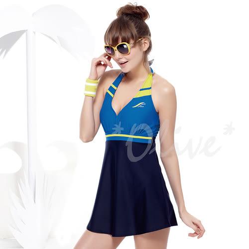 ☆小薇的店☆MIT聖手品牌深V美胸設計時尚二件式連身裙泳裝特價1280元 NO.A92610(M-3L)