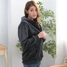 高級保暖布料口袋連帽外套(共2色)onl...