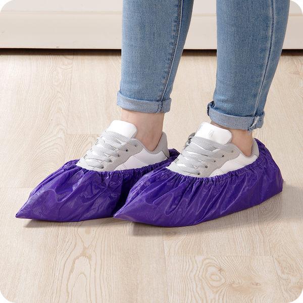 加厚大號下雨天鞋套 防水防雨耐磨 家用滌棉布雨鞋鞋套防滑反復用