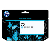 【奇奇文具】HP C9390A NO.70 淡青色繪圖機墨水匣