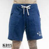 【BTIS】針織休閒短褲 / 曠藍色