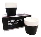 金時代書香咖啡 北歐 Wilfa svart 陶瓷咖啡杯2入 LSWFWPCCWH