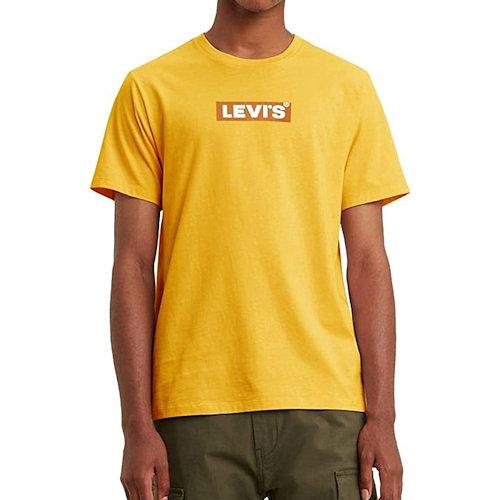Levis Levis 男款短袖T恤(金黃色)