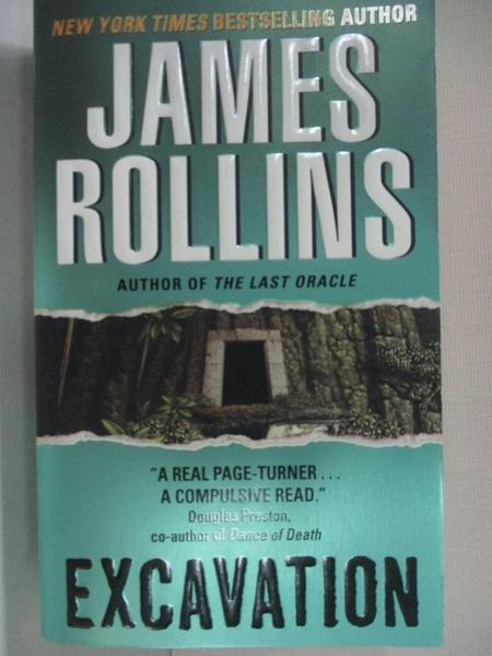 【書寶二手書T1/原文小說_A5I】Excavation_Rollins, James