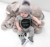 大象安撫抱枕頭毛絨玩具公仔嬰兒玩偶寶寶睡覺陪睡布娃娃生日禮物『CR水晶鞋坊』igo