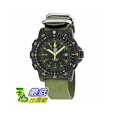 [美國直購 ShopUSA] 手錶 Luminox Recon Point Man Black Dial Green Nylon Mens Watch LM8826.MI $10546