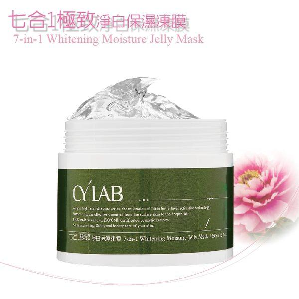 CYLAB 七合1極致淨白保濕凍膜 250g 台灣自有品牌保養品 美白凍膜 保濕凍膜 清潔型凍膜