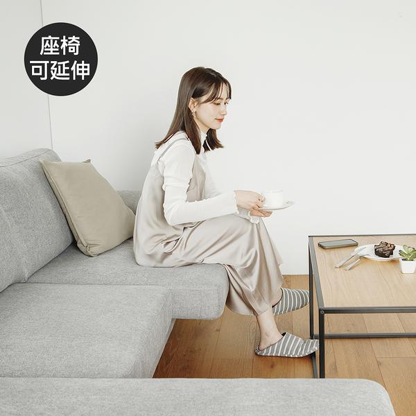 預購 沙發 沙發床 沙發椅 L型沙發 三人發【Y0052】Vega Moana可延伸L型貴妃沙發 完美主義