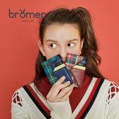 錢包 不萊玫女式超薄短款圣誕小卡包韓國可愛個性迷你小巧證件包零錢包