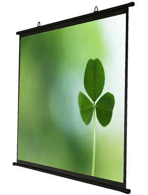 [卡瑪斯投影機銀幕] 100吋4:3 壁掛式簡易型投影布幕、 席白可攜式投影機銀幕 含稅含運