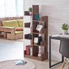 書櫃 收納櫃 置物櫃【收納屋】不規則多功能櫃-胡桃木色&DIY組合傢俱