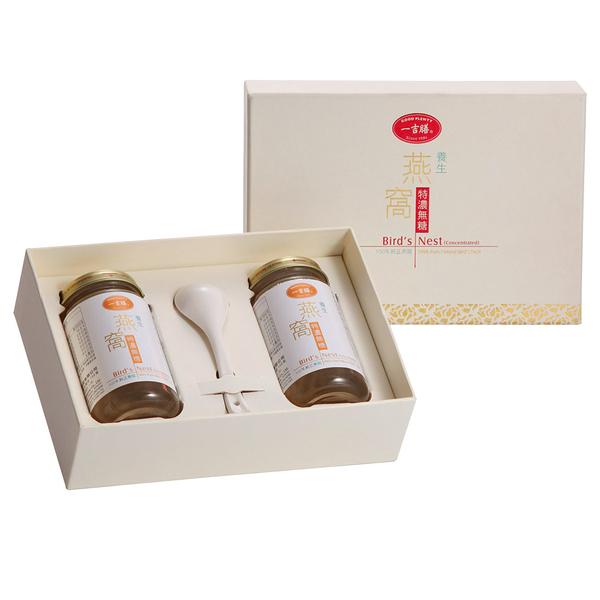 一吉膳-養生特濃無糖燕窩禮盒(150公克/2入) #無糖